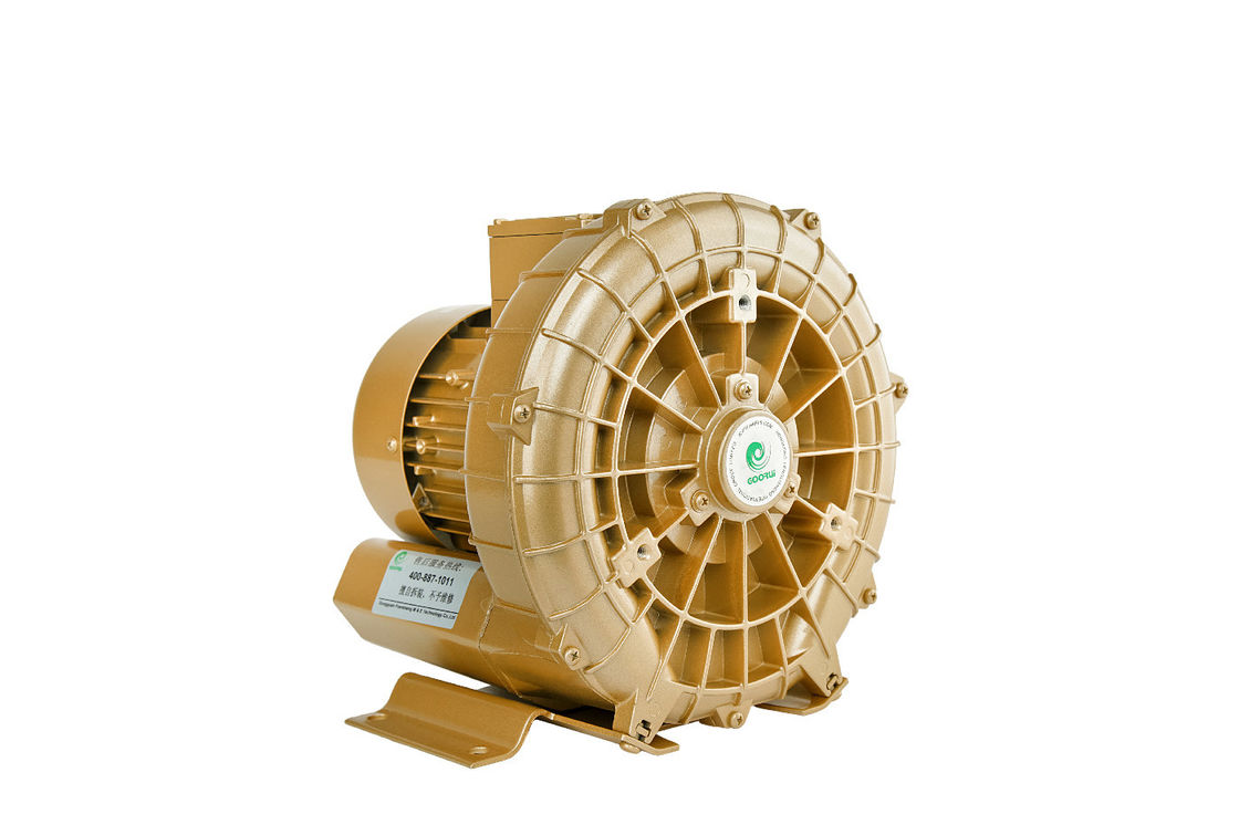 400 W Goorui Side Channel Vacuum Pump Blower In Cnc , Air Suction Blower