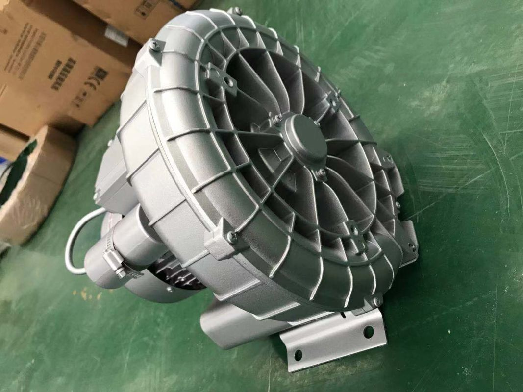 1.5 Kw Single Phase 200-240V Side Channel Air Blowers In Silver Or Gold Color